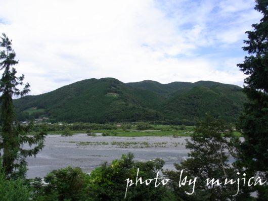 山と大井川