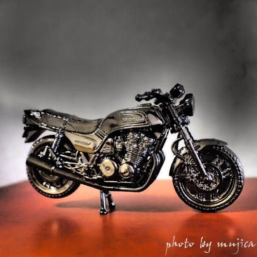 バイクの置物