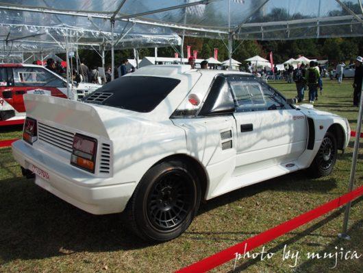 MR2ベースのラリーカー