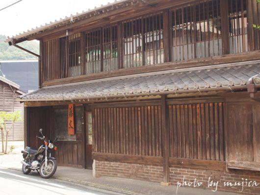 日坂宿 藤文とSR125