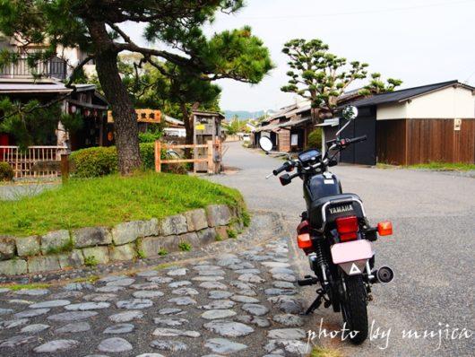 SR125と大井川川越遺跡