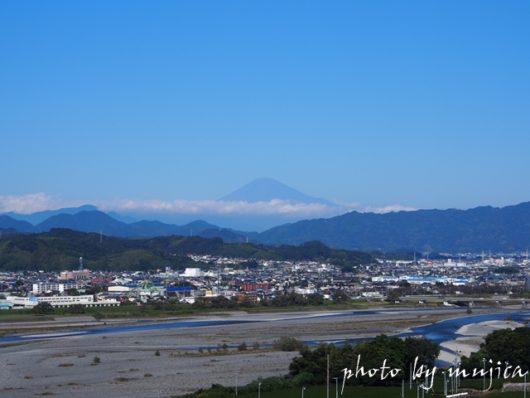 中条景昭像公園からの景色