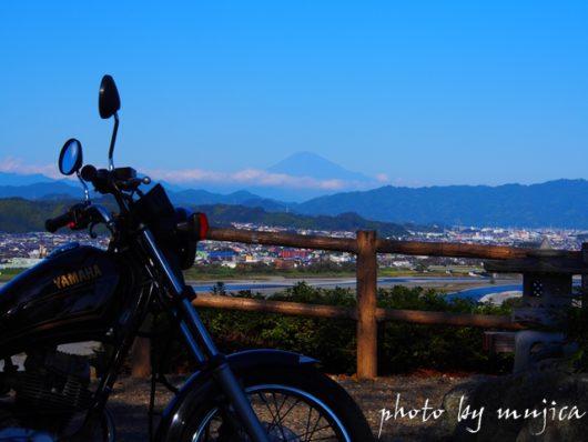 SR125と富士山