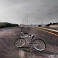【自転車のある風景】ビーチクルーザーで飛行機を追う!