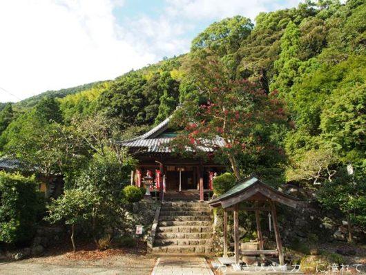 法華寺の本堂