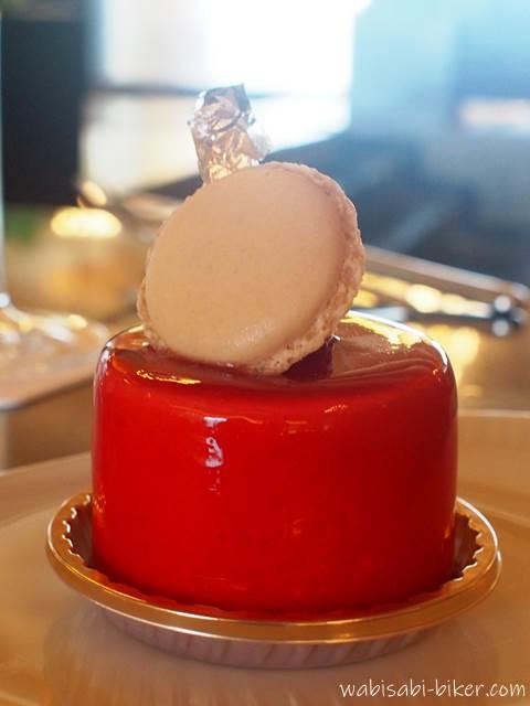 ウィンザーホテル洞爺のケーキ