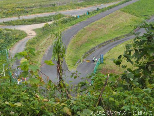 牛尾実験所跡からの眺望