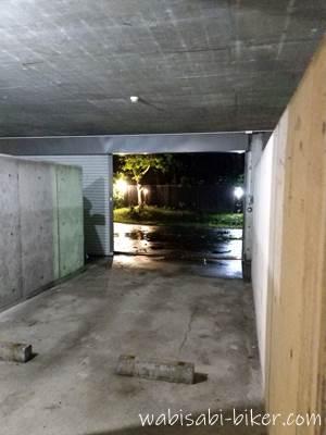 ホテル ココアの駐車場