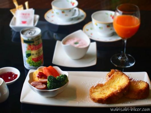 ホテル ココアの朝食