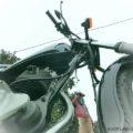 CASIO【EXILIM EX-FR100】で挑むバイク写真☆YAMAHA SR125