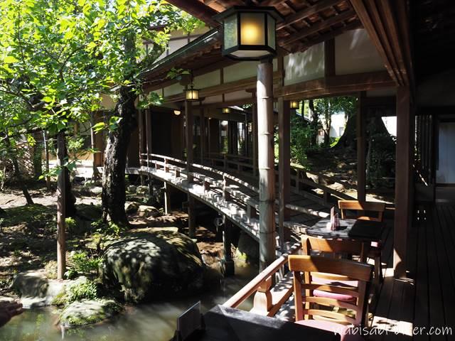 新井旅館 渡りの橋