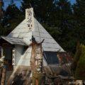 バイクで行くカフェ【お茶ぼっこ】☆山道沿いのピラミッドを目指して