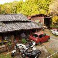 秘境カフェ【Antique Cafe Road】原付二種&大型バイクで行った感想