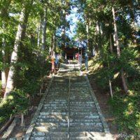 千葉山智満寺の階段