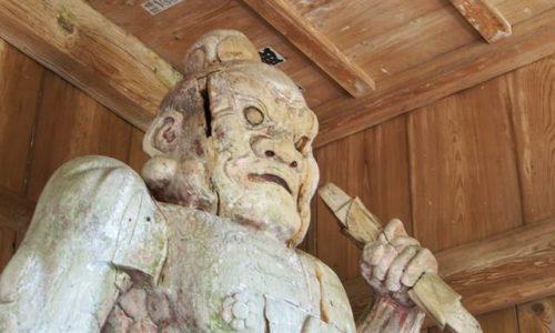 智満寺金剛力士立像