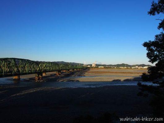 大井川と鉄橋