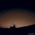 バイク写真撮影★茶畑のマジックアワーに期待したが。。。