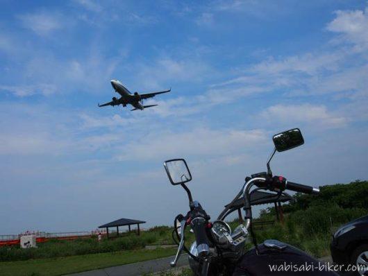 飛行機とオートバイ
