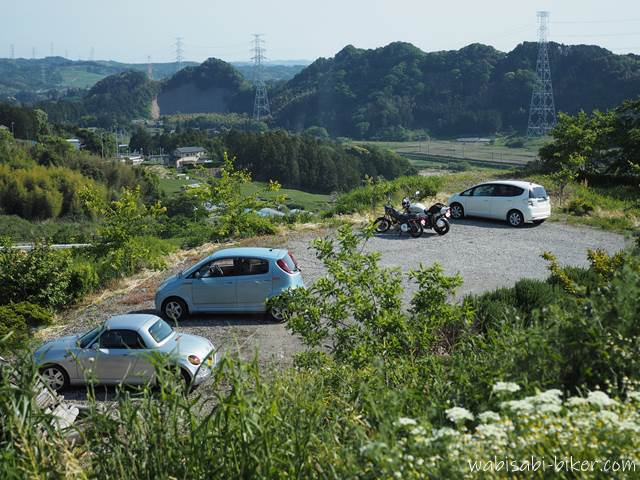 里山カフェ ゆうふうの駐車場