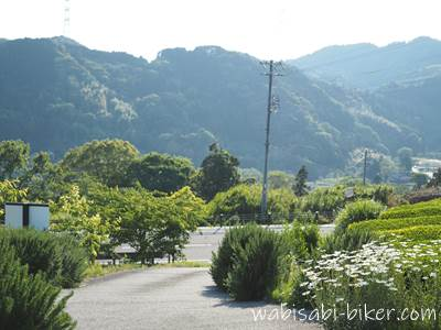 里山カフェ ゆうふうへの坂道