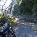 秘境駅で、バイク写真★22年目のビラーゴ