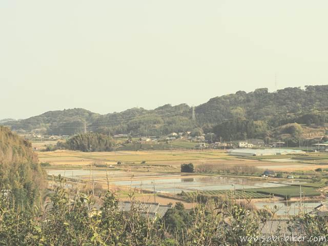 最明寺からの眺望