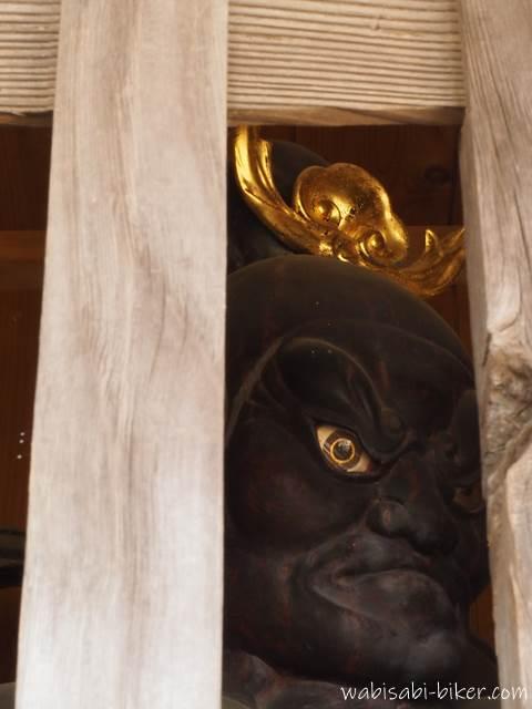 最明寺の仁王像