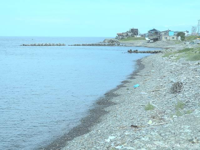 オロロンライン沿いの海岸