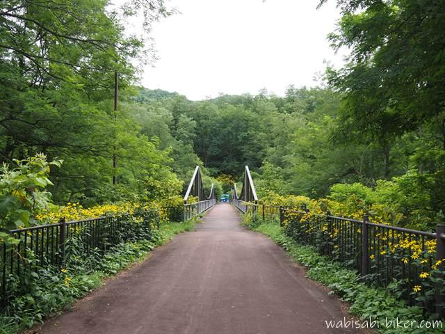 三笠ジオパーク 野外博物館への道