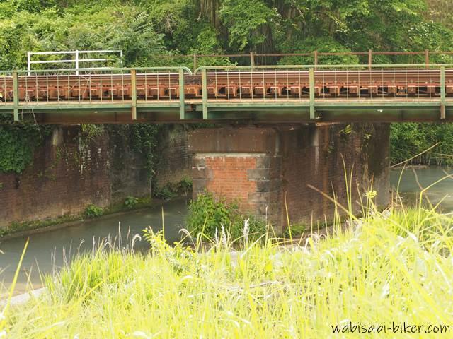 橋梁 レンガの橋脚