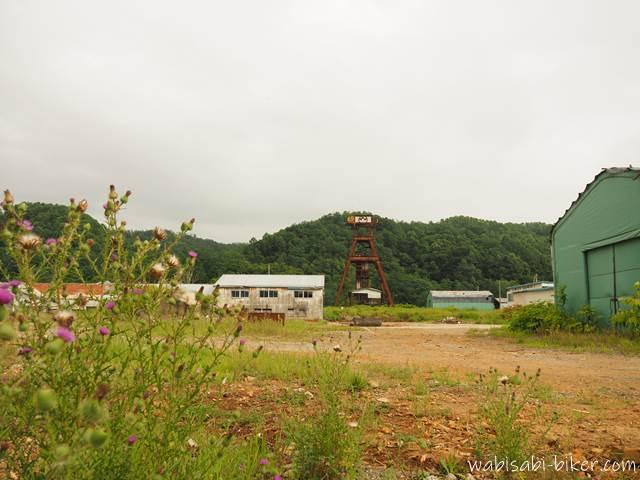 北炭幌内炭鉱立坑櫓