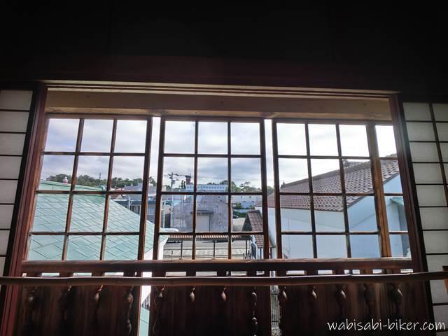 旧商家丸一本間家 付属屋からの眺望