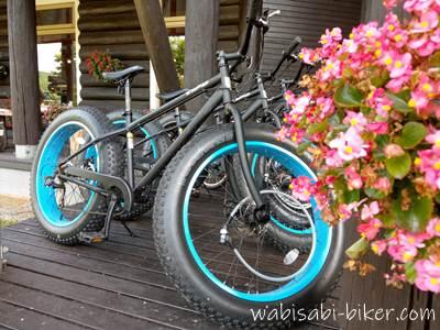 メープルロッジのファットバイク