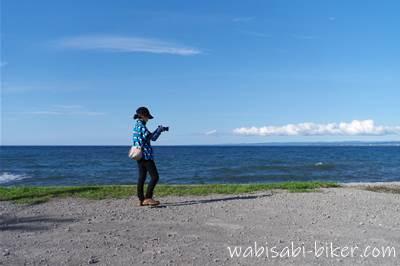 増毛町の日本海を撮る