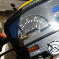 SR125メーター