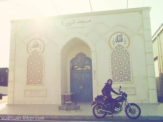 モスクとオートバイ
