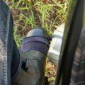 バイク用シフトカバーに最適だった靴下(追記あり)
