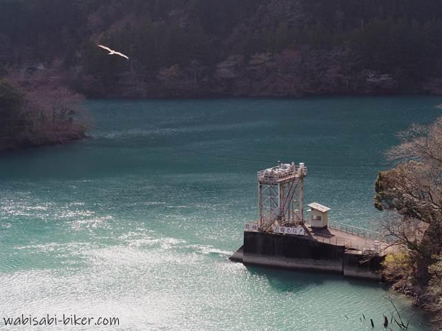 笹間川ダム湖