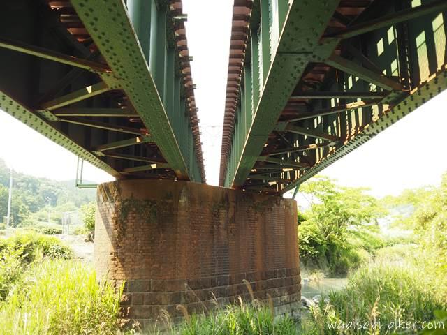 橋梁とレンガの橋脚