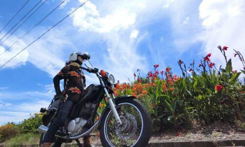 バイク ポートレート ユリとカンナ