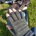 関節炎(サポーター)手袋で、リハビリお散歩ツーリング