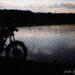早苗田とバイクのある風景とバイク保管庫を建てたその後☆YAMAHA SR125