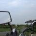 飛行機が通過するバイク写真に憧れて★22年目のビラーゴ